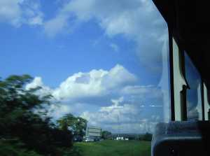 Happy clouds, somewhere n Pennsylvannia