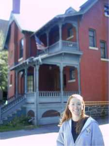 I really loved the Victorian houses there